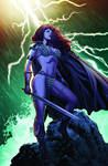 Red Sonja 67 cover color
