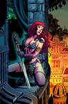 Red Sonja 66 cover color