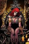 Red Sonja 70 cover color