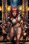 Red Sonja 73 cover color