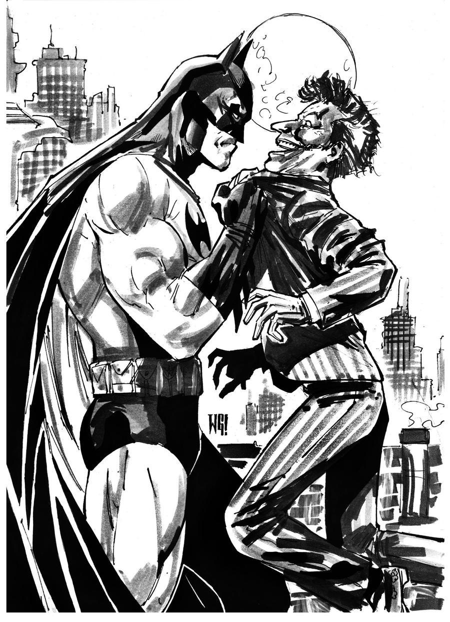 Batman by wgpencil