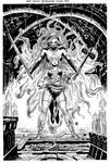 Red Sonja unchained 02 pencils