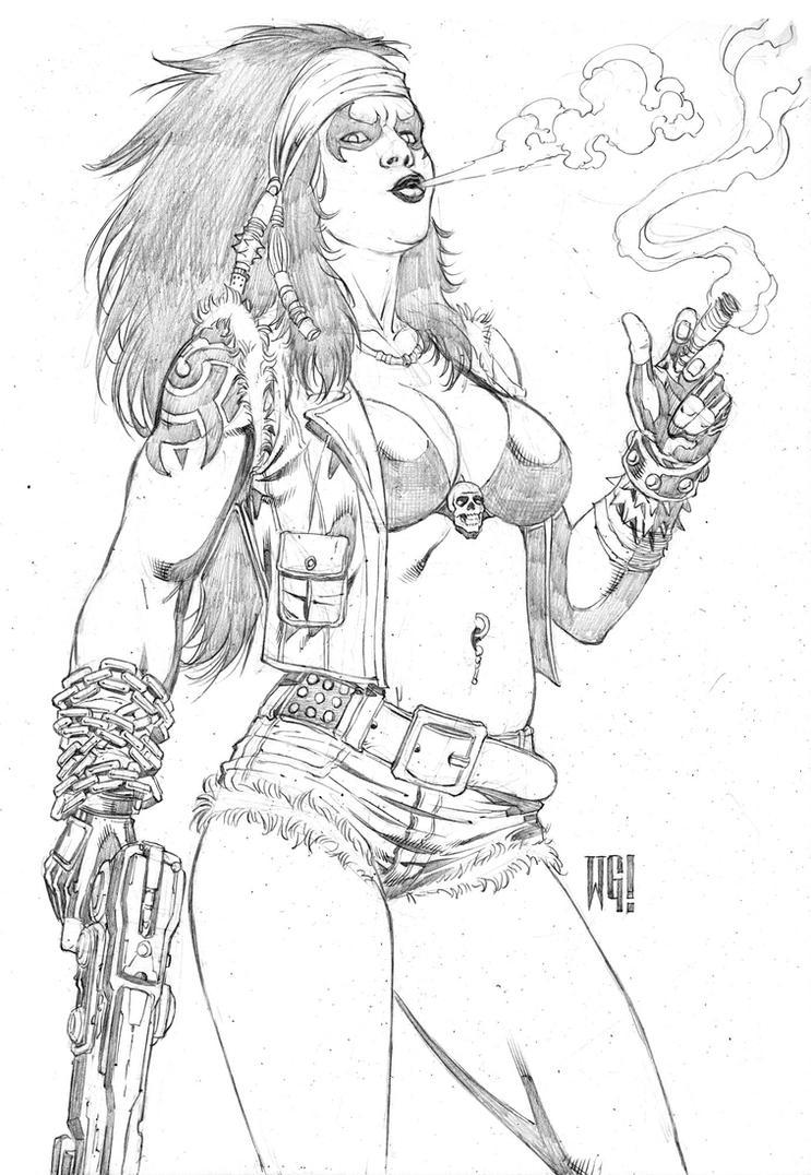 She-Lobo? by wgpencil