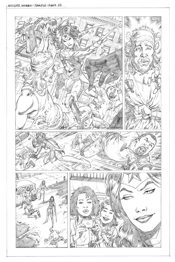 Wonder Woman Sample pg03 by wgpencil