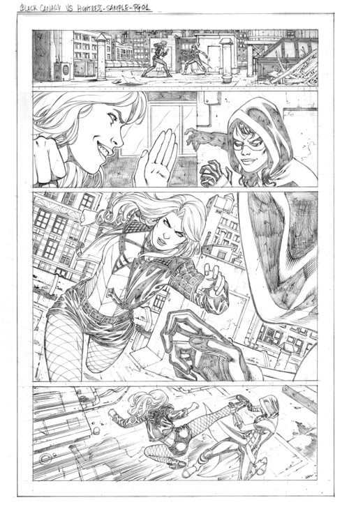 Walter BoP Sample Page01 by wgpencil