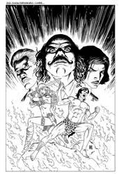 Red Sonja/Tarzan #2-Cover by wgpencil