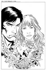 Red Sonja-Tarzan #4 Cover by wgpencil