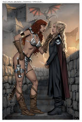 Sonja Daenerys-Commission(color) by wgpencil