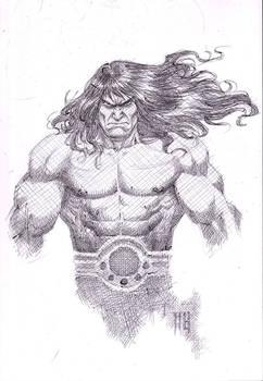Conan ballpointpen sketch