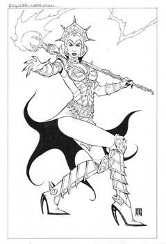 Evil-Lyn commission
