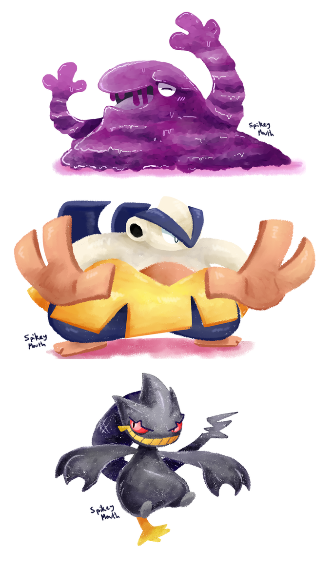 Pokemon twitter requests by The-Spikey-Mouth