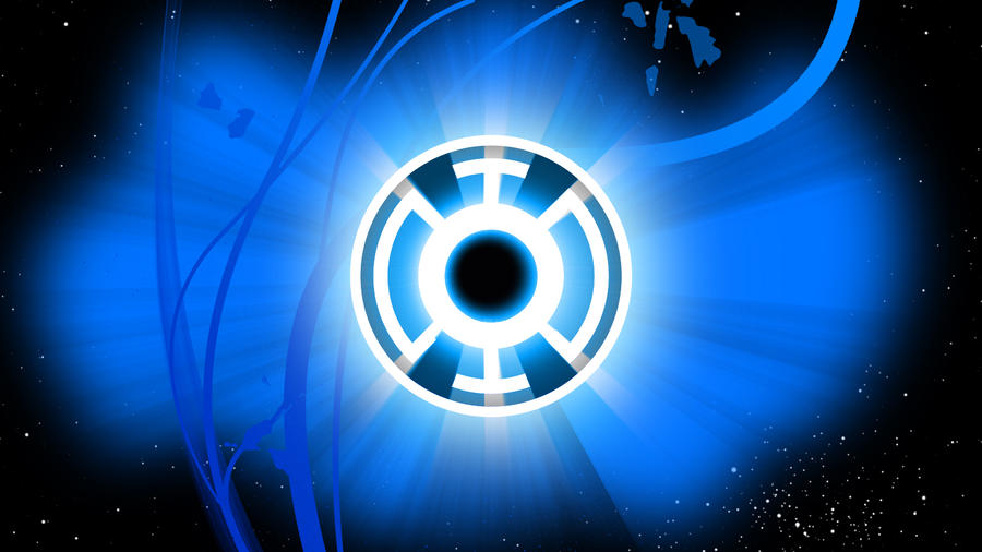 Blue Lantern Corps Wallpaper by Asabru88