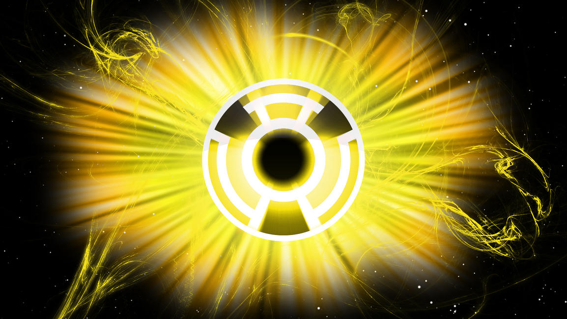 Yellow Lantern Oath Wallpaper