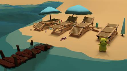 Sea Sand Sun by KelimelerYeterli