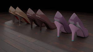 High heel women shoes 03