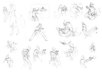 action sequences by davi-escorsin