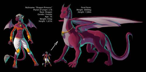 Dragon Princess by davi-escorsin