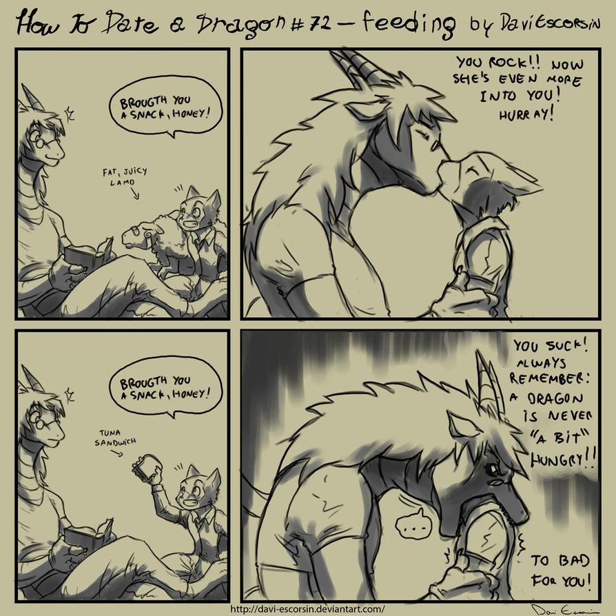 How to date a dragon tip # 72 - feeding by davi-escorsin