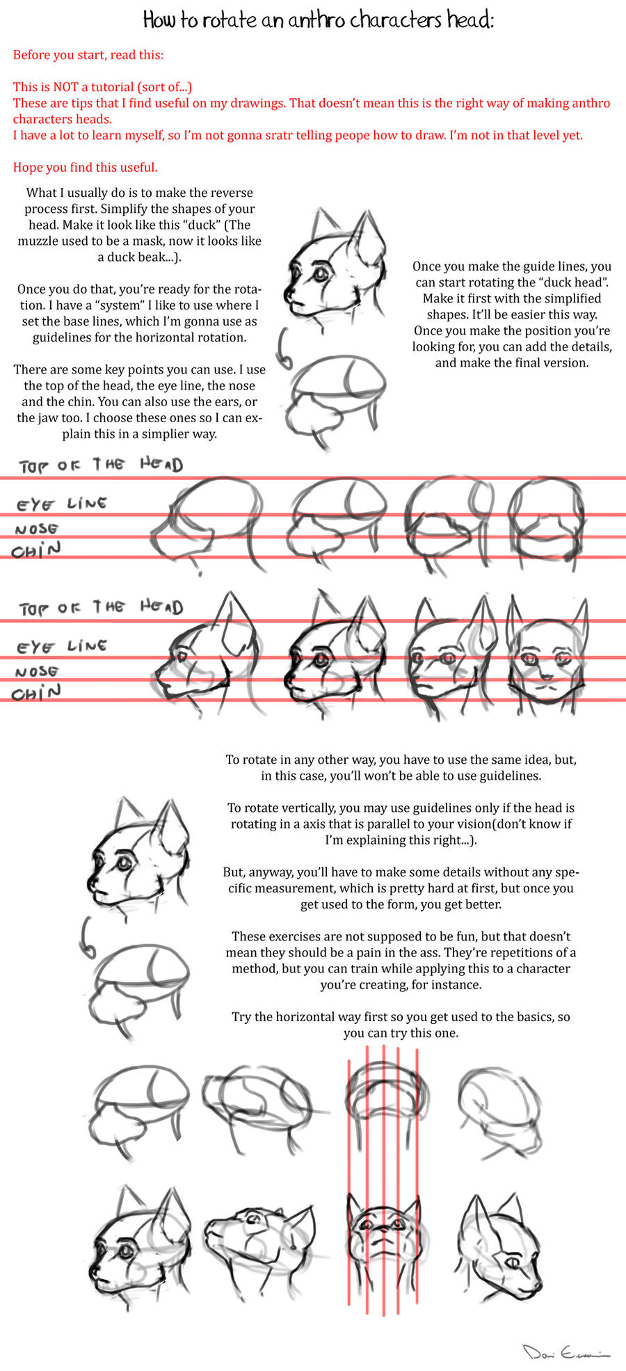 how to rotate anthro characters heads by davi-escorsin