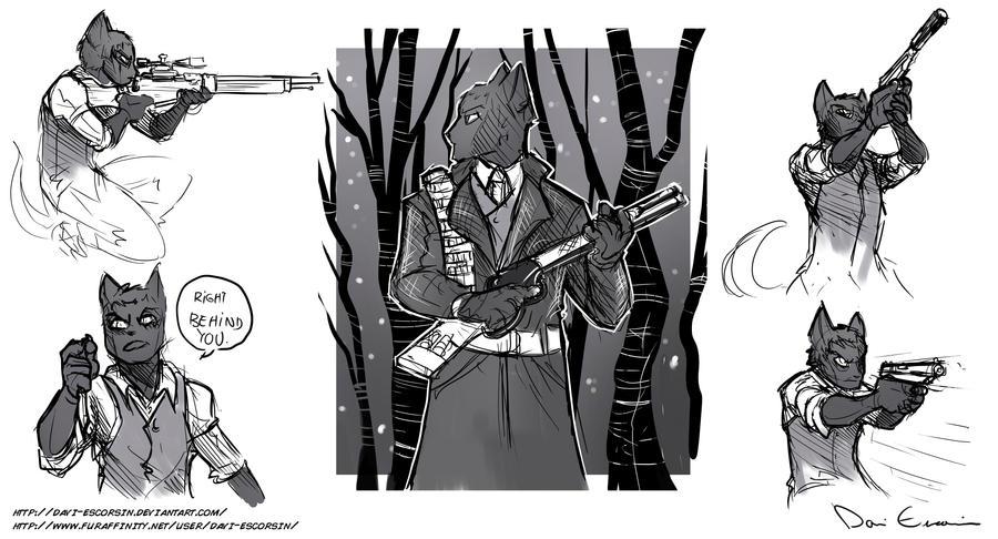 Sketch Dump - Alexei Vasilyev by davi-escorsin