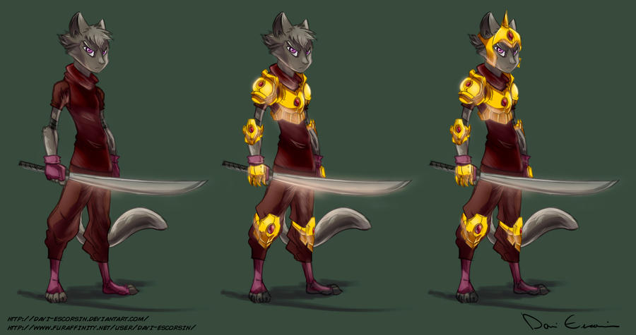 Swordscat by davi-escorsin