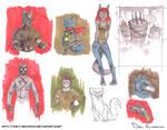 Sketch Dump - Markers 3 - Prismacolors