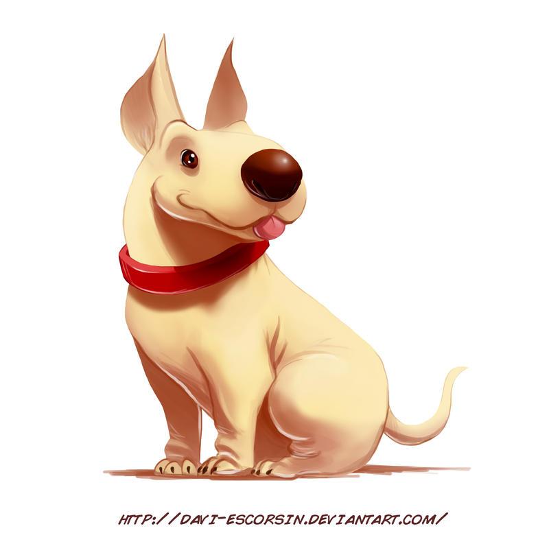 Cute Dog by davi-escorsin
