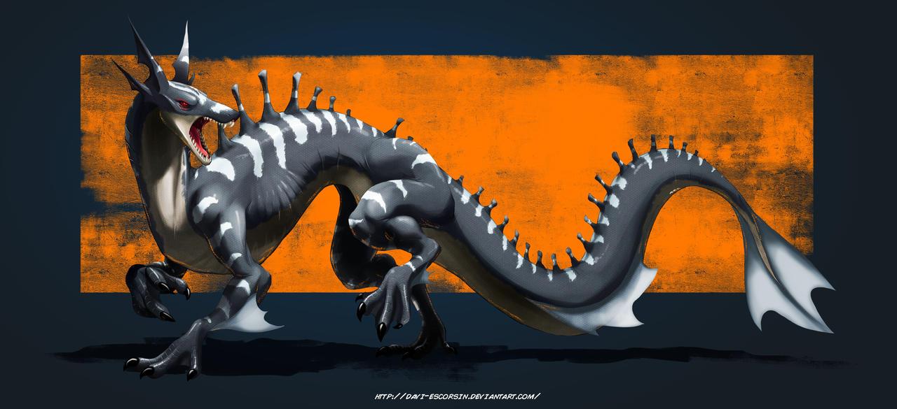 Alien Dragon 2.0 by davi-escorsin