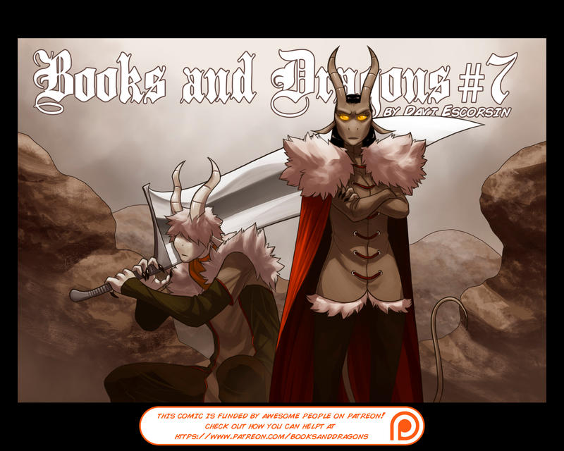 Books and Dragons issue 7 is out, everyone!!! by davi-escorsin