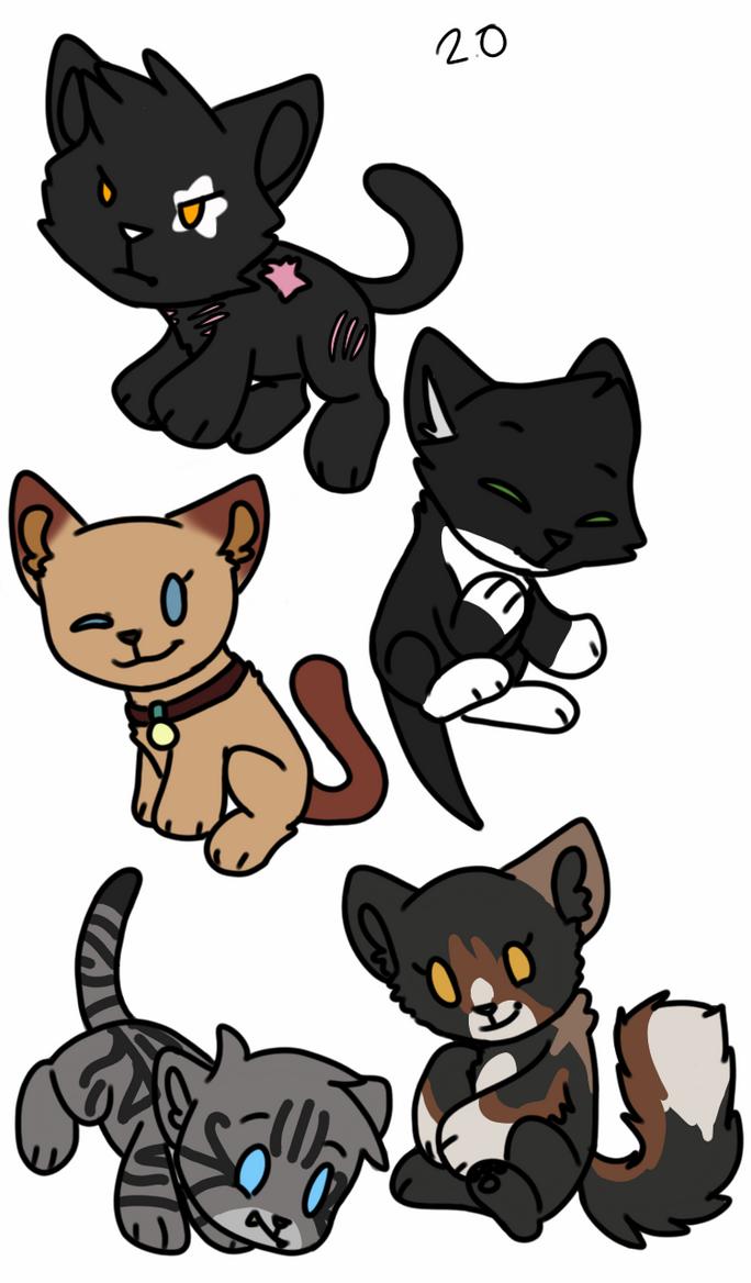 warrior cats references(chibi by assainwolf9 on DeviantArt  Warrior Cat Chibi