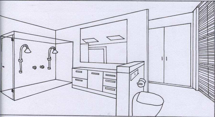 Line Art Bathroom : Line art anime bathroom by willow yanagi on deviantart