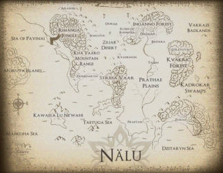 Map of Nalu by j2starshine