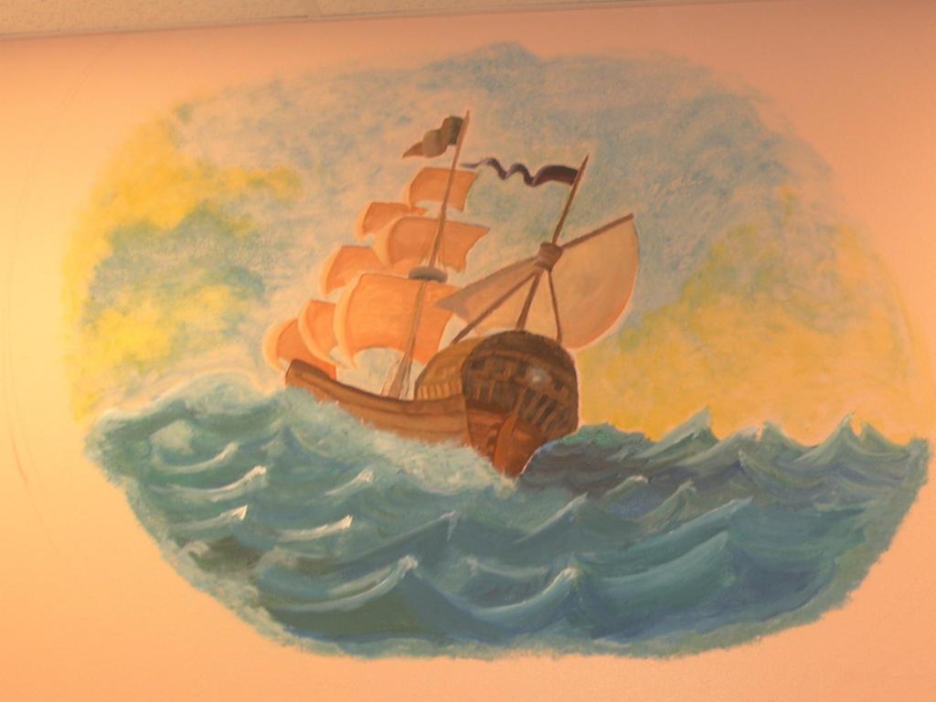 Mural: At Sea by j2starshine