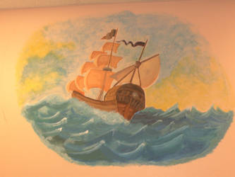 Mural: At Sea by j2starshine