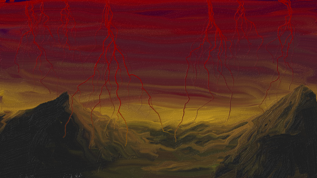Mountains and Blood by j2starshine