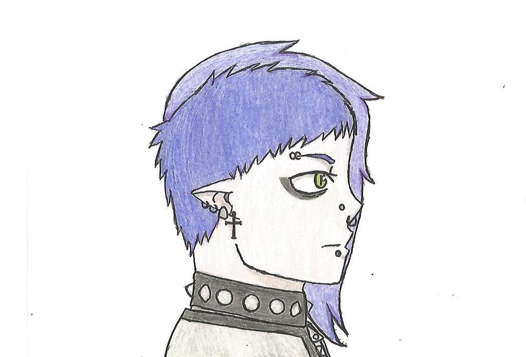Dante (Profile view) by DovahkiinRuvaak