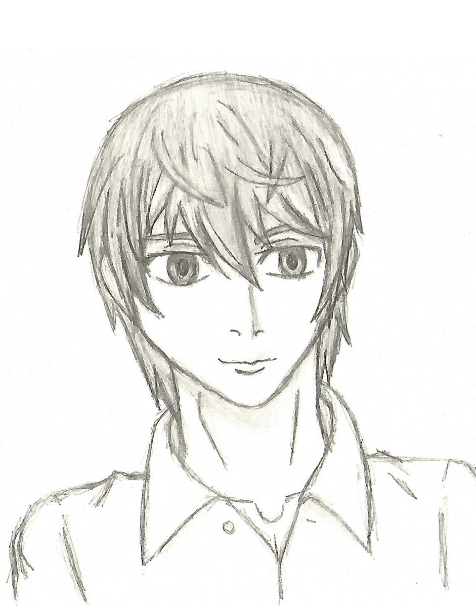 God (Light Yagami sketch) by DovahkiinRuvaak