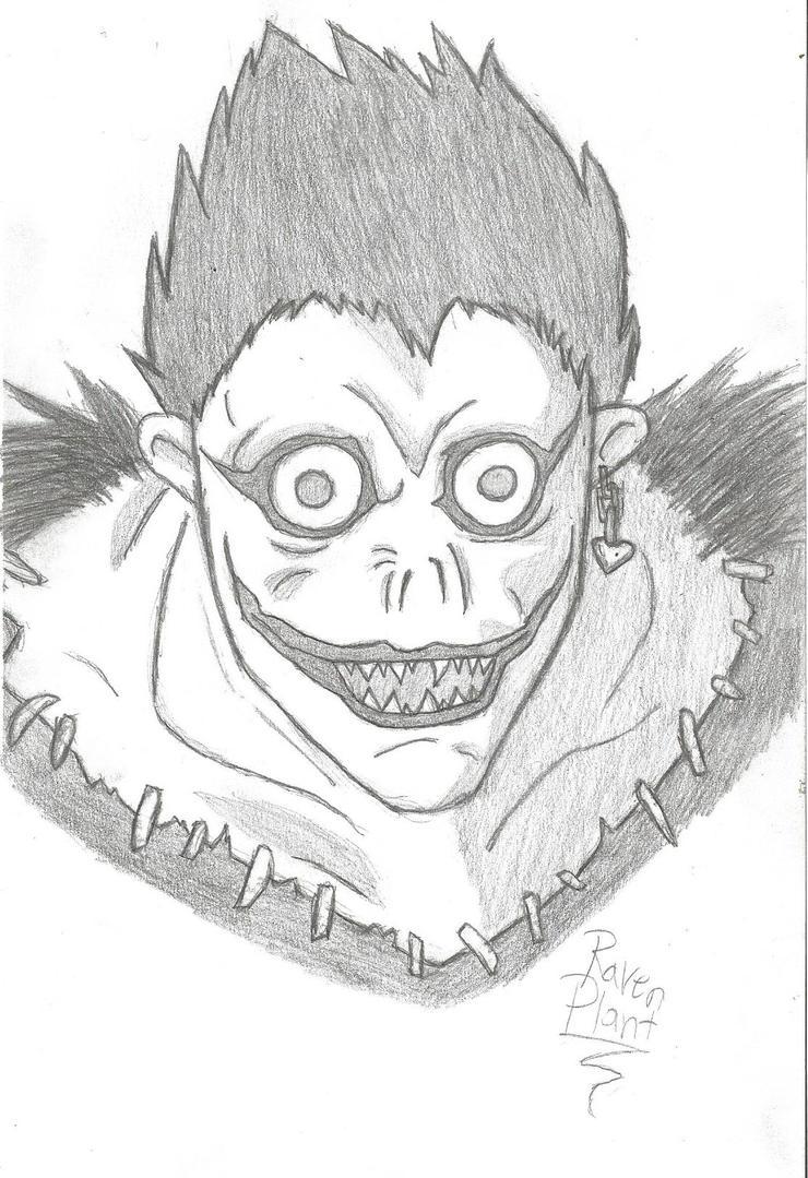 Death Note Ryuk sketch by DovahkiinRuvaak