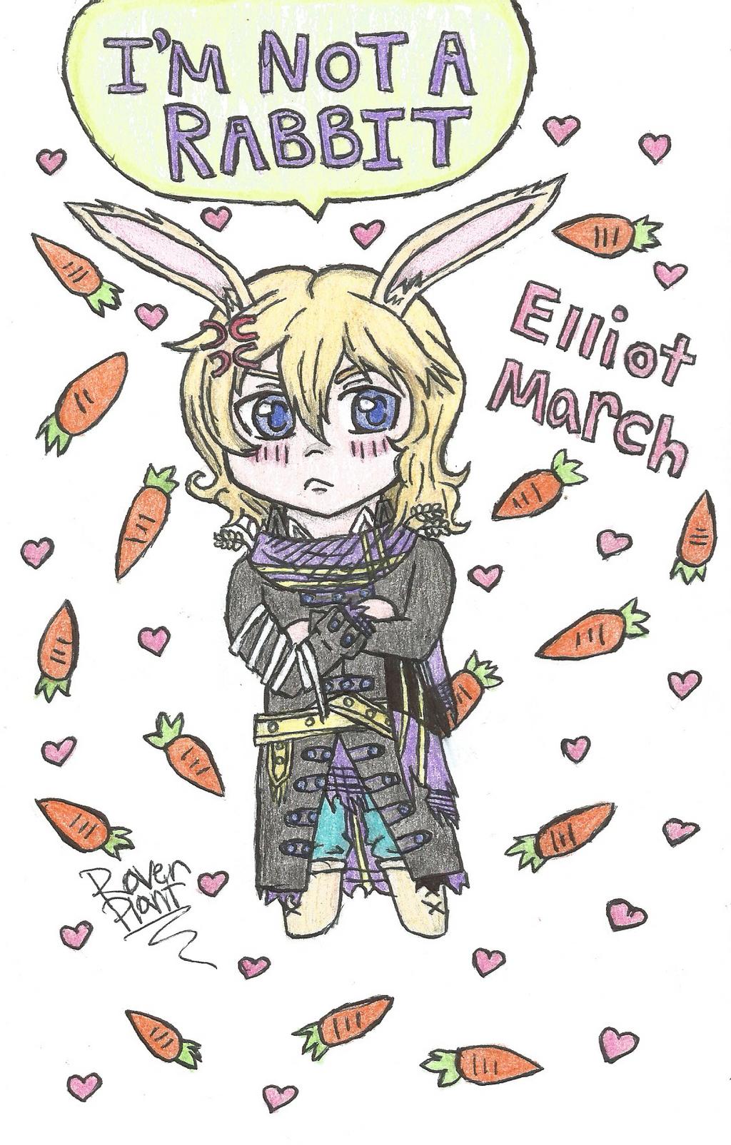 Chibi Elliot March by DovahkiinRuvaak