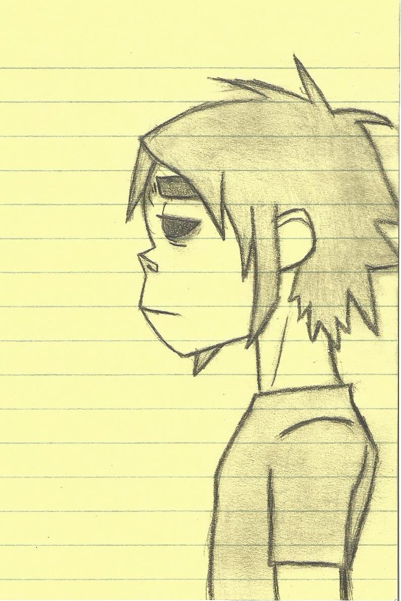 2D notepad drawing by DovahkiinRuvaak