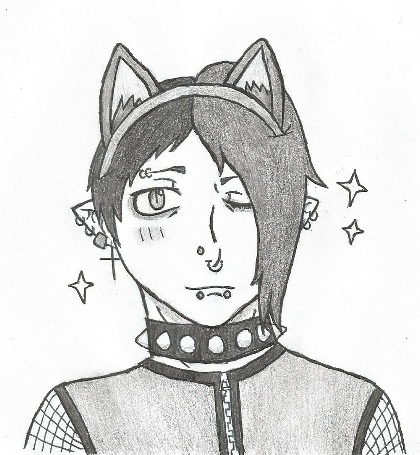 Dante with Cat Ears~ by DovahkiinRuvaak