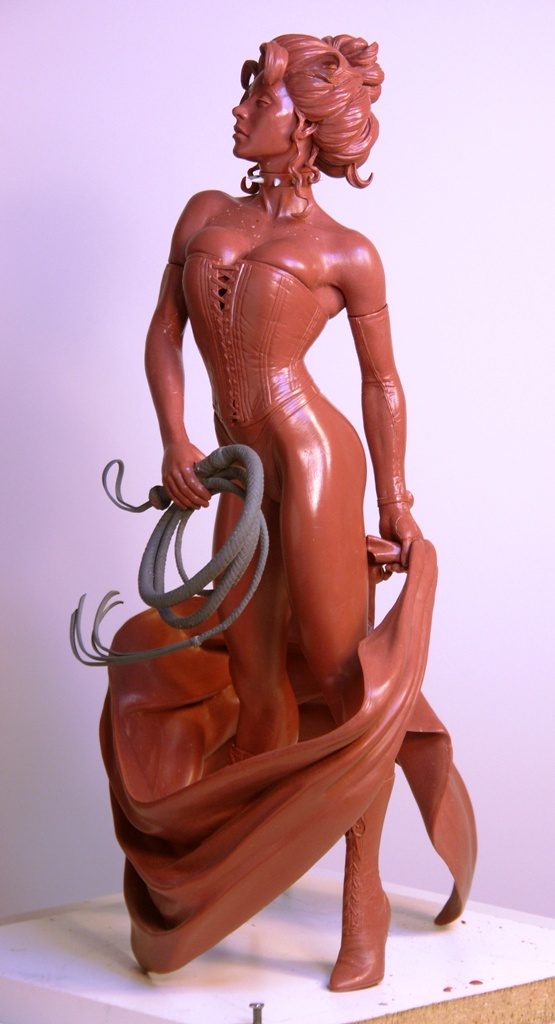 AH Black Queen by TKMillerSculpt