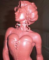AH Black Queen Closeup by TKMillerSculpt