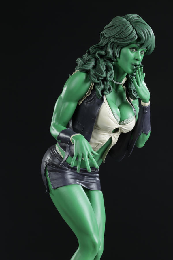 AH She Hulk Color by TKMillerSculpt