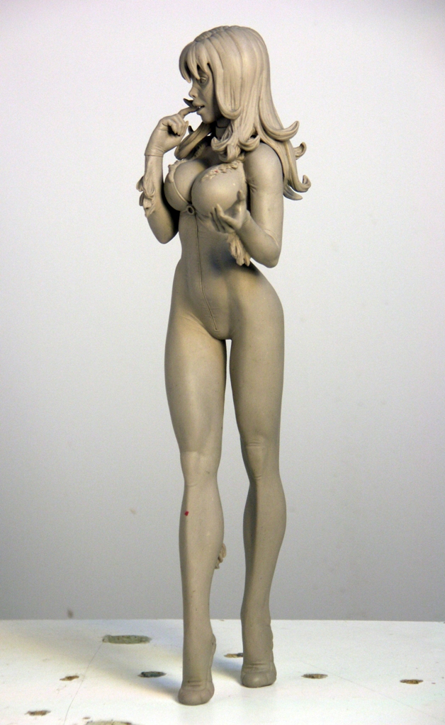 Black Cat 3 by TKMillerSculpt