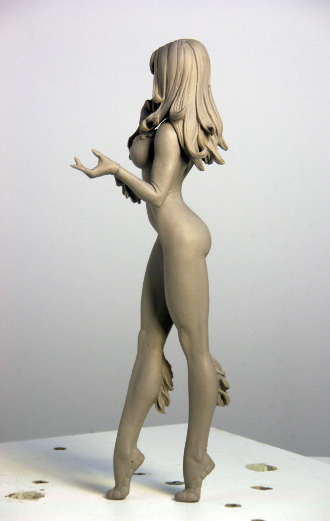 Black Cat 4 by TKMillerSculpt