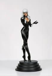 Black Cat 01 Painted by TKMillerSculpt