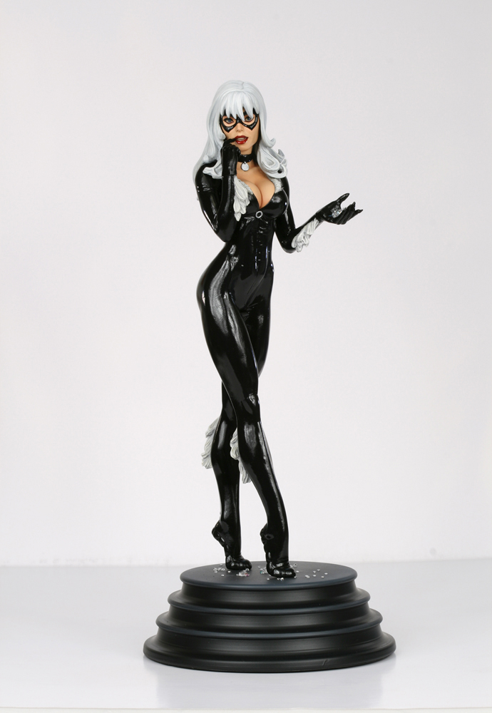 Black Cat 01 Painted by TKMillerSculpt