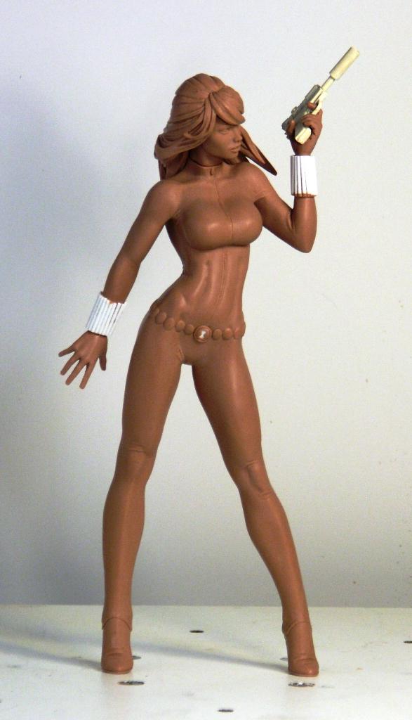 Black Widow 02 by TKMillerSculpt