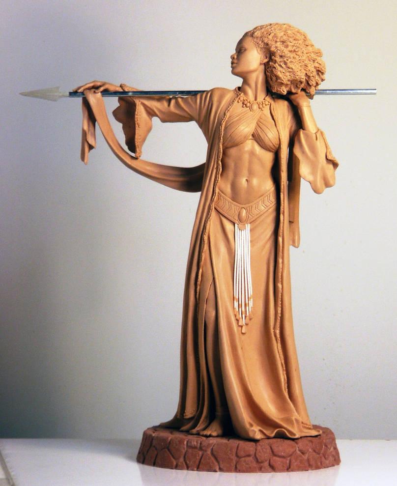 Blackshear's Amazon by TKMillerSculpt